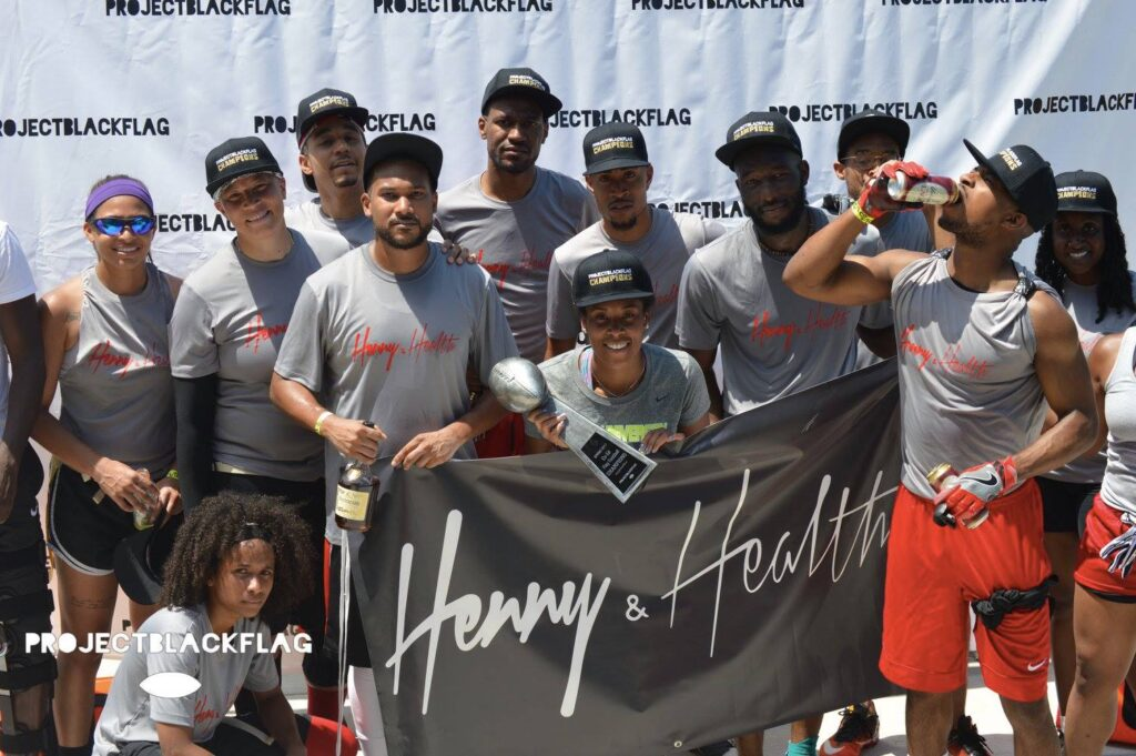 2017 Spring League Champs: Henny & Health