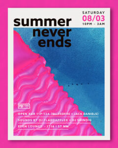 Summer Never Ends Party