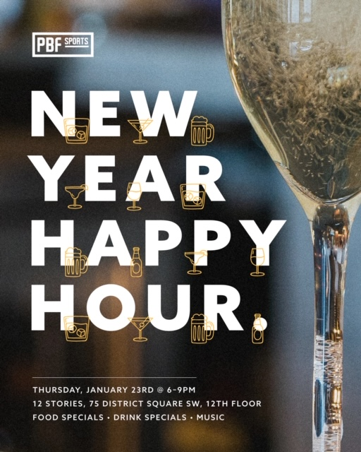 new year happy hour
