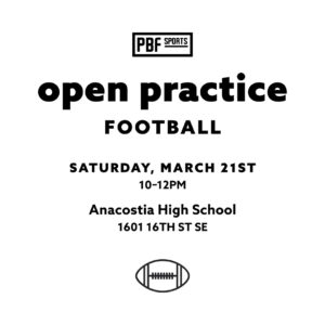 football open practice