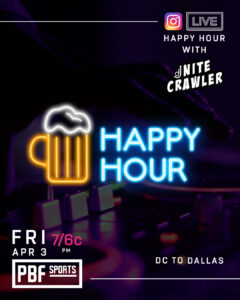 instagram live happy hour
