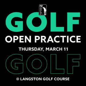 Spring Golf Open Practice