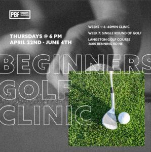 Beginners Golf Clinic