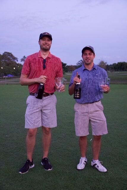 2021 Summer Monday #GolfOnTheMall Beginner League Champions: Team Grip it and sip it