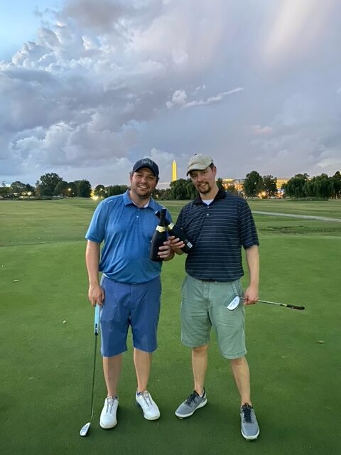 2021 Summer Monday #GolfOnTheMall Intermediate/Advanced League Champions: Fairway To Heaven